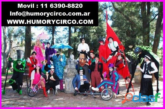 11 6390 8820 show de circo para eventos / artistas circenses para fiestas