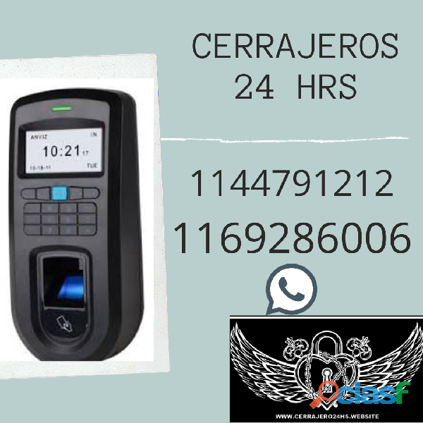 CERRAJEROS 24 HRS A DOMICILIO